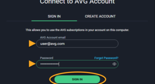 How to check the email address being linked to the AVG Account?